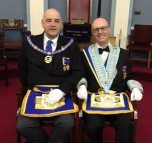 Alan Knowles and Nigel Payne